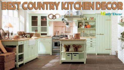 diy country kitchen decor country kitchen d 233 cor to suit traditional modelled 6806