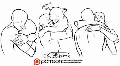 Reference Drawing Poses Couple Hugging Kibbitzer Pose