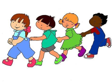 Dibujos para colorear de niños haciendo filas Imagui