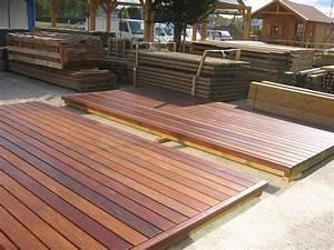Terrasse En Ipe : lame ip pour terrasse ext rieur en bois exotique la ~ Premium-room.com Idées de Décoration
