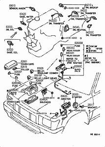 1995 Toyota Switch Assembly  Neutral Start  Switch