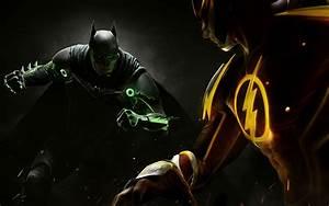 Wallpaper Injustice 2, Batman, 2017 Games, Flash, PS4 ...