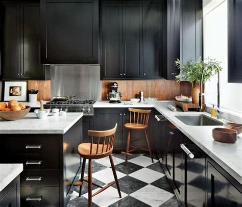 cuisine plan de travail marbre cuisine et bois un espace moderne et intrigant