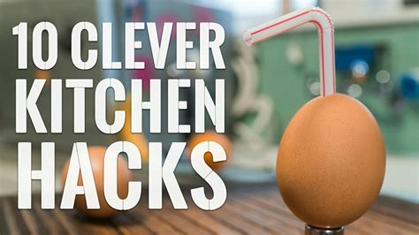 Kitchen Hacks by 10 Clever Kitchen Hacks To Try Right Now