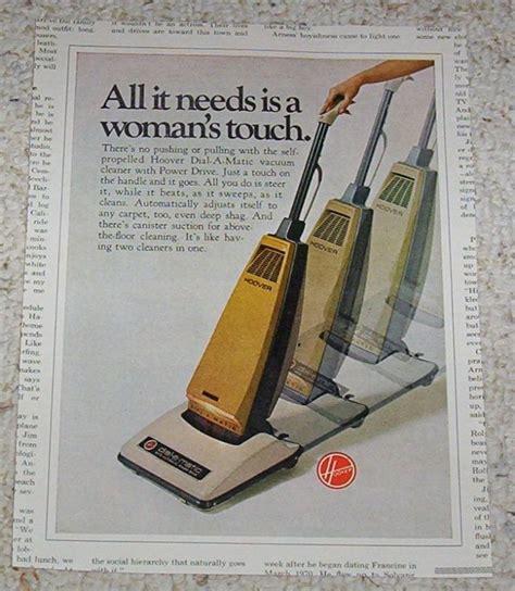 advertising hoover dial  matic power vacuum