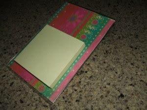 making  post  note holder thriftyfun