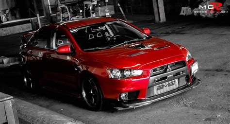 mitsubishi evo modified review 2010 mitsubishi lancer evolution x gsr modified