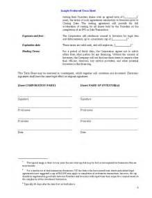 Investor Term Sheet Template Term Sheet Template Or Venture Capital Investors Hashdoc