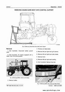 John Deere 4640  U0026 4840 Tractors Tm1183 Pdf Manual