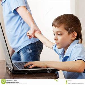 Computer Addiction Royalty Free Stock Images - Image: 23864749