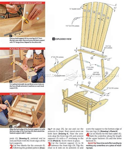 woodworking plans  rocking chair
