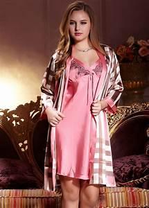 Seide Bademantel Damen : damen bademantel und neglig set nm1060 pajamas morgenmantel nachthemd ~ Eleganceandgraceweddings.com Haus und Dekorationen