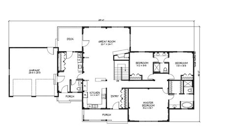 small ranch house floor plans floor plans for small ranch style homes