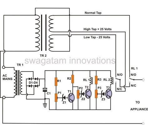 Build Stage Mains Power Stabilizer Circuit Whole