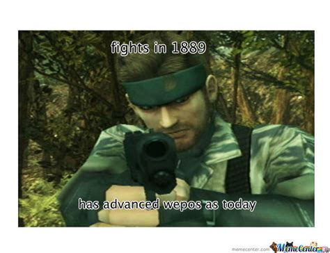 Meme Metal Gear - metal gear solid logic by rashirj1 meme center