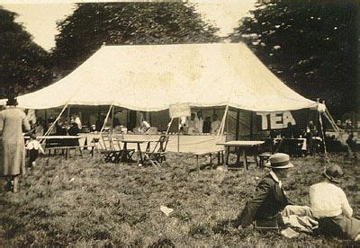barkers marquees vintage tents still manufacturing in