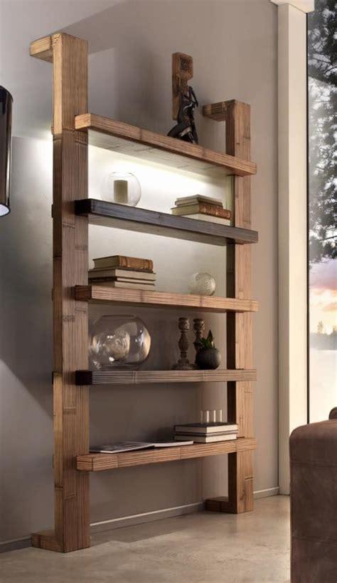Libreria Con Mensole Libreria Con Cinque Mensole In Frassino Wanos Quot Wood