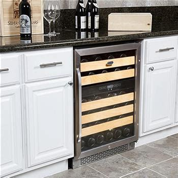 installing wine cooler in existing cabinet front vented wine coolers
