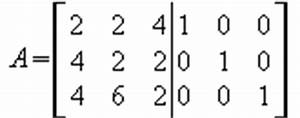 Einheitsmatrix Berechnen : um die inverse zuberechnen muss man die ausgangsmatrix nehmen und eine ~ Themetempest.com Abrechnung