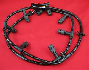 6 0l Ford Powerstroke Diesel Glow Plug Harness Set Fits