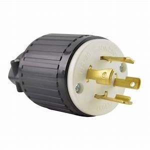 Superior Electric Yga030 Twist Lock Electrical Plug  4p