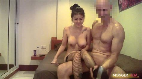Thai Hooker With Big Fake Boobs Gets Fucked By Giant