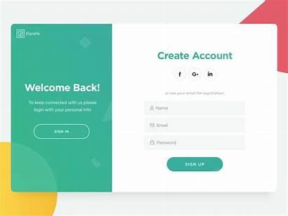 Login Ui Sign Form Web User Pages