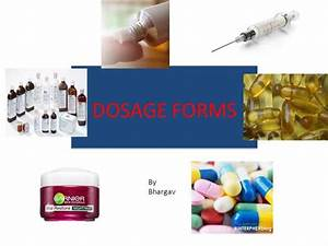 Dosage Forms