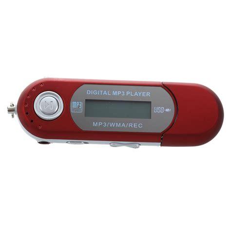 8g Usb Flash Drive Mp3 Player Fm Walkman Red W1q1 R8b6