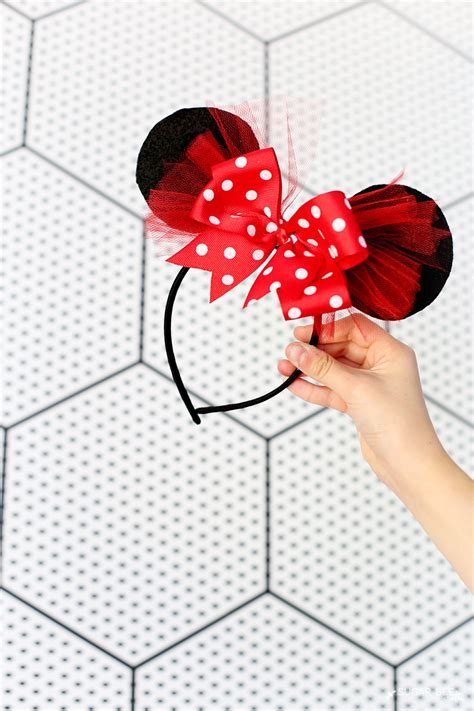 diy minnie mouse bow costume sugar bee crafts