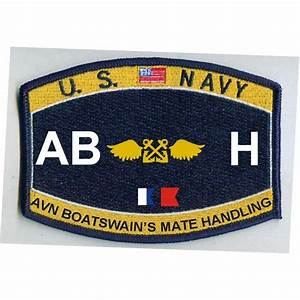 AB H - Aviation Boatswain's Mate Handling Navy Rating ...