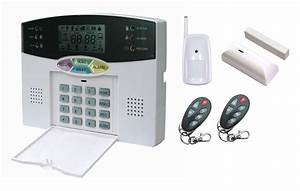 Wireless Home Security System House Alarm 32wireless  U0026 8wired Lcd Display Pstn Voice Guide Alarm
