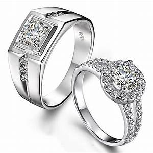 wedding rings for couples wedding promise diamond With platinum wedding rings for couples
