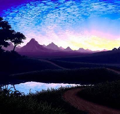 Bit Imgur Landscapes Nature Pixel Gifs Amazing