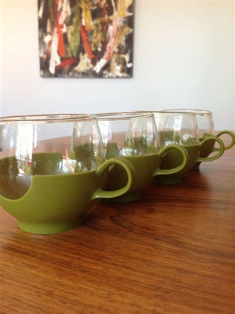 5 out of 5 stars. Pyrex coffee tea cups - mid century 1960s - glass cups ...