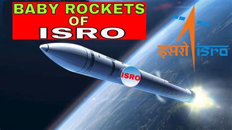 BABY ROCKETS OF ISRO (SSLV) LAUNCH IN 2019 - YouTube