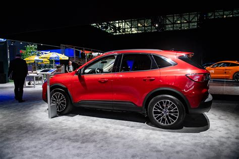 ford escape revealed crossover suv brings plug