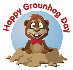 Royalty Free Groundhog Day Clip Art, Vector Images ...