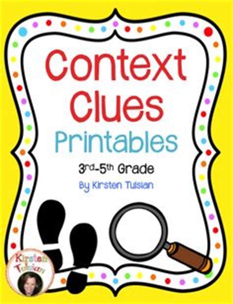 1000+ Images About Context Clues On Pinterest Context