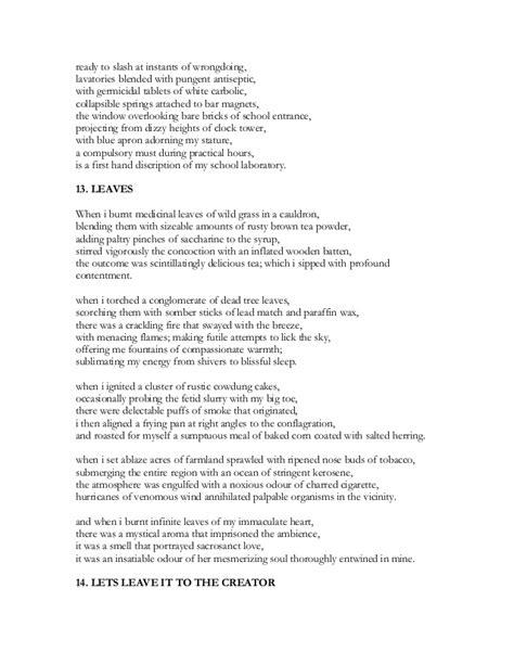 Hide and Seek - part 3 - Rhyming & Non Rhyming Poems