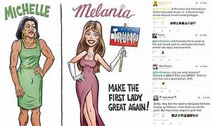 Michelle Obama depicted as 'butch' and 'masculine ...