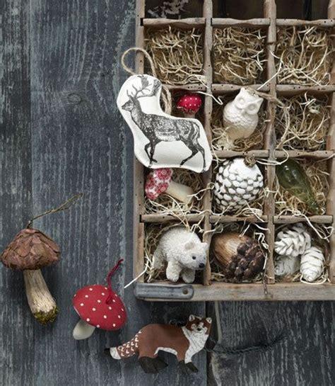 woodland holiday decorations