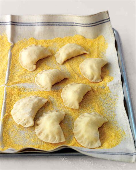 pierogi dough basic pierogi recipe martha stewart