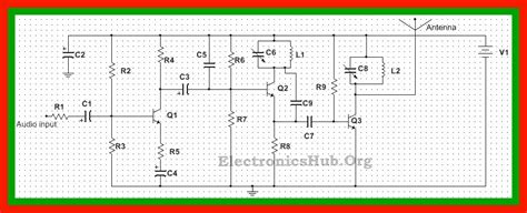 Transmitter Circuit Diagram Working Applications