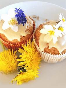 These, Easy, Dandelion, Cupcakes, With, Sunflower, Seeds, Are, So
