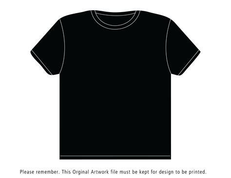 Black Shirt Template Black T Shirt Template Bbt
