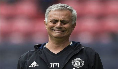 Manchester United Head Coach Jose Mourinho Frustrated With ...