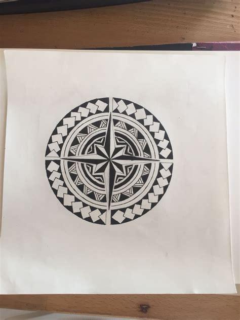 rose des vents maori mandala jewelry design ideas
