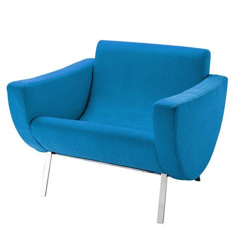 fauteuil vintage bleu guariche mandarine maisons du monde