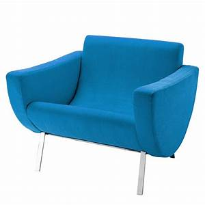 Fauteuil Vintage Maison Du Monde : fauteuil vintage bleu guariche mandarine maisons du monde ~ Teatrodelosmanantiales.com Idées de Décoration